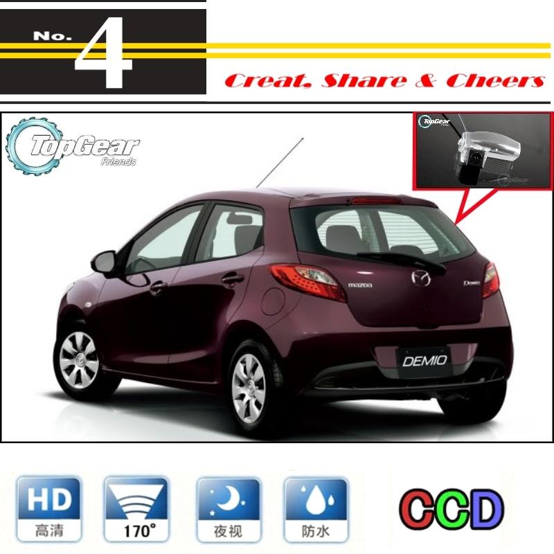 For Mazda Mazda2 M2 Demio DE 2007~2014 Car Camera High Quality Rear View Back Up Camera For PAL / NTSC | CCD + RCA