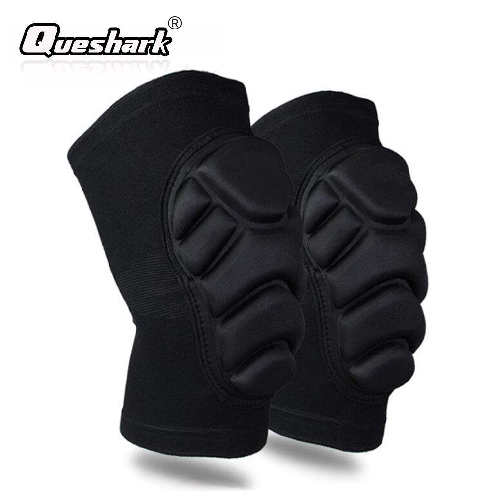 1 Pair Sponge Thickened Ski Knee Pads Adults Children Sports Dance Running Skating Snowboard Knee Support Protection