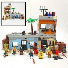 SWAT PUBG Figures Plants Accessories Block Army Soldier Weapon Building Blocks LegoINGlys City House Model Block Military Block