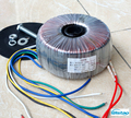 600W HIFI Amplifier Dedicated Toroidal Transformer Pure Copper Wire Double 50V and Dual 15V  0-12V Audio for your DIY