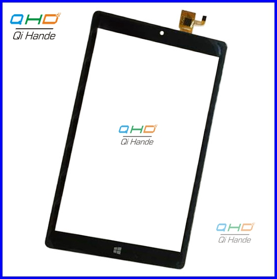 Black New Touch Screen Panel Digitizer Glass Sensor Replacement for 8