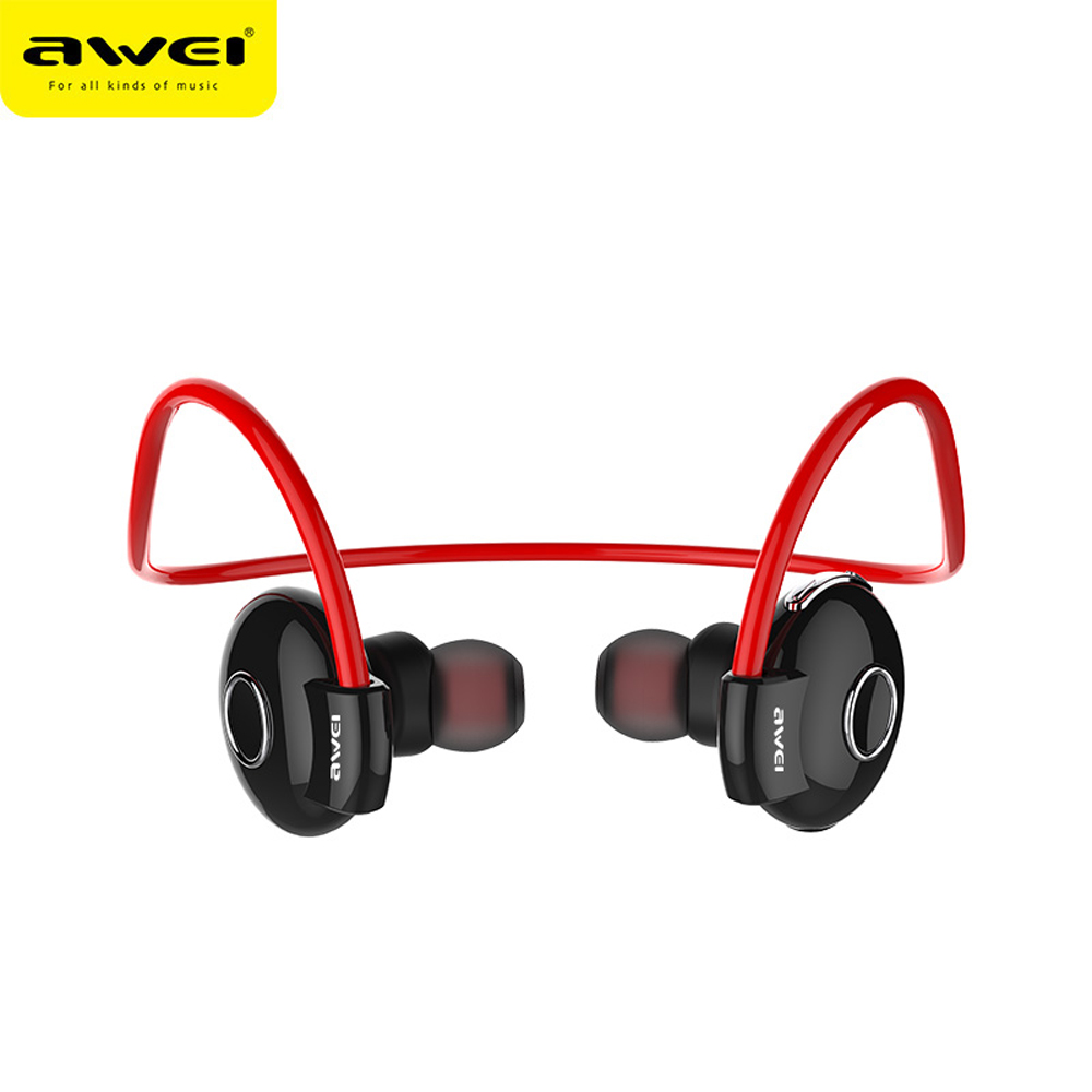Awei Blutooth Sport Wireless Headphone In-Ear Auriculares Bluetooth Earphone For Your In Ear Phone Bud Running Headset Earbud 2
