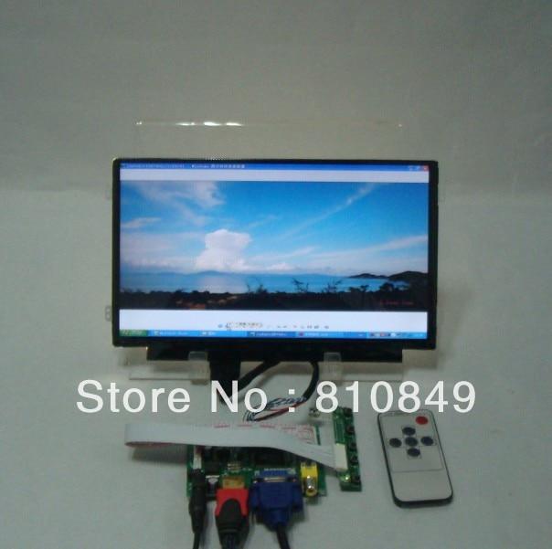HDMI+VGA+2AV Control board+10.1inch LP101WH2 CLAA101WB03 1366*768 Lcd panel