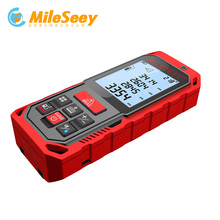 2018New Mileseey S7/S2 50M Bluetooth Edition Laser Rangefinder Handheld Digital Laser Distance Meter Rangefinder Measurer tools laser distance meter x6 50m 70m 100m distance measurer meter rangefinder power button device