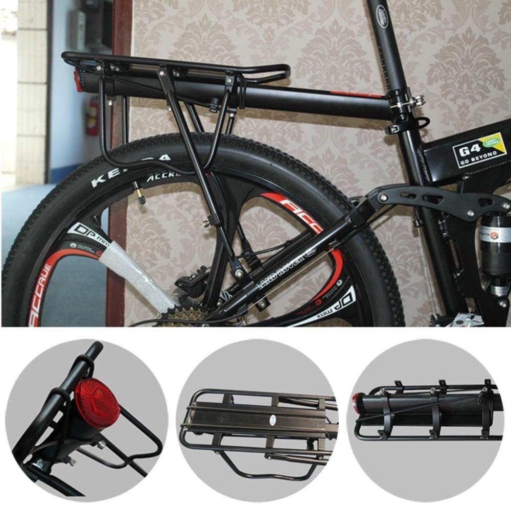Bicycle Rack Holder Shelf Brompton Bike Bicycle Stand Load Capacity Up To 100kg Adjustable Design Aluminum Alloy Bike Carrier