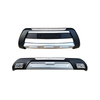 JIOYNG для hyundai Tucson 2013 2014 передний + задний бампер диффузор бамперы для губ протектор гвардии опорная плита ABS Chrome отделка