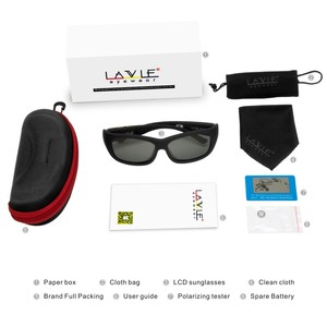 Image 5 - Men Sunglasses with Variable Electronic Tint Control Lens Smart Sunglasses Men Polarized for Driving Fishing Travelling 2018 New