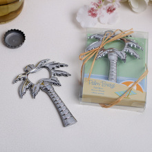 50Pcs Birthday Souvenir Silver Palm Tree