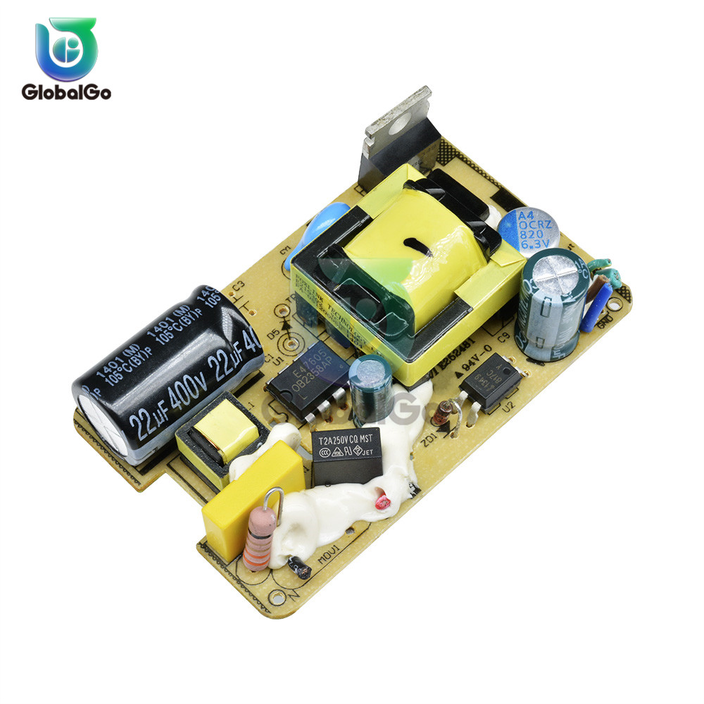 AC-DC 100-240V To <font><b>5V</b></font> 2.<font><b>5A</b></font> Mini Switching <font><b>Power</b></font> <font><b>Supply</b></font> Module DC Voltage Regulator Switch <font><b>Power</b></font> <font><b>Supply</b></font> Module Board 2500MA image