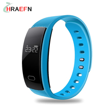 New Bluetooth Smart Band heart rate monitor smartband sport Bracelet Passometer fitness tracker watch QS80 for IOS Android phone