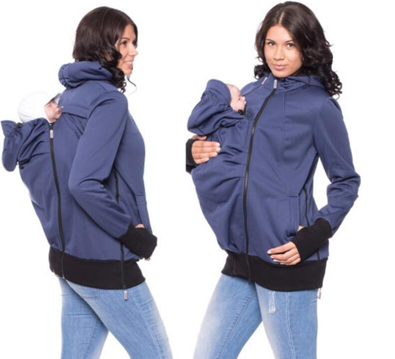 Fashion Softshell Baby Carrying Coat Baby Carrier Jacket ...