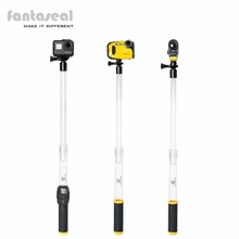 Fantaseal Floating Extension Pole Hand Grip Floaty Selfie Stick for GoPro Hero 5 4 3 Session w/Remote Holder