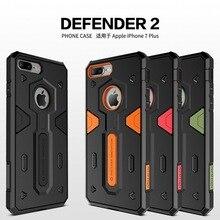 Ударопрочный Броня Чехол Для Apple Iphone 7 7 plus 6 6 плюс 6 s 6 s плюс iphone7 iphone6 NILLKIN Защитник 2 Прочный Щит Задняя Крышка