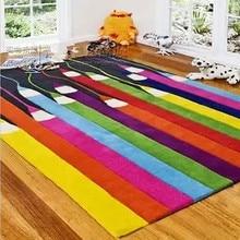 Современные ковры ручной работы для гостиной, спальни, модный креативный журнальный столик, диван, индивидуальный трендовый ковер