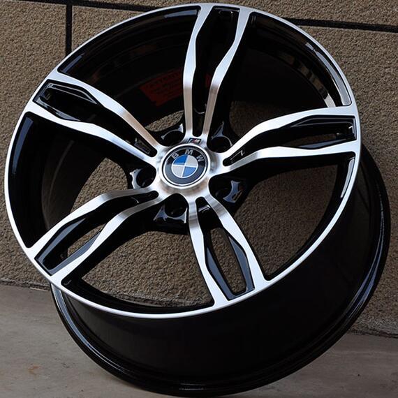 Chrome 17 18 19 5x120 Car Aluminum Alloy Rims Fit For BMW