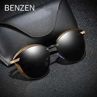 BENZEN Sunglasses Women Polarized Vintage Cat Eye Ladies Sun Glasses Female Retro Shades Oculos de sol Feminino UV400