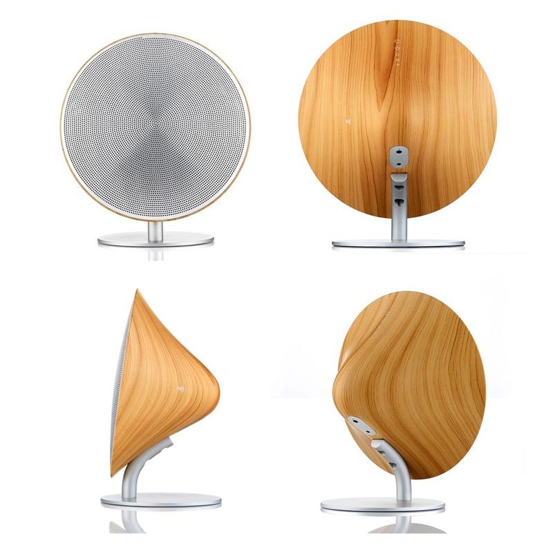 High end di legno speaker bluetooth NFC subwoofer altoparlante di alta qualità elegante di legno ad alta potenza mini amplificatore senza fili - 3