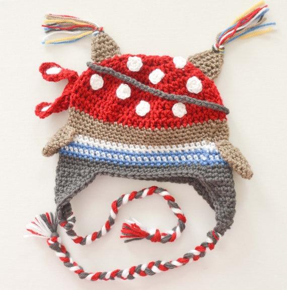 Jungen Piraten eule Hut Häkeln pirate eulen hut cap, handgemachte ...