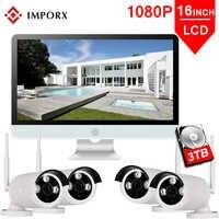 IMPORX 4CH Wireless NVR Kit 1080P 16