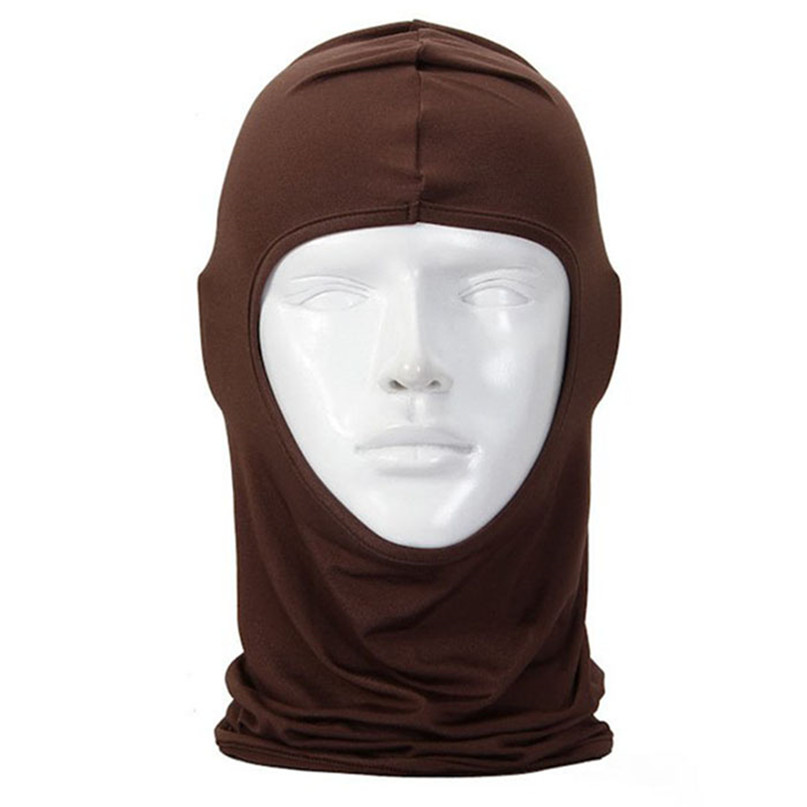 New Classic Lycra Ski Face Mask Bike Bicycle CS Sports Football Mask Balaclava Headband headgear halloween face mask #2a (16)