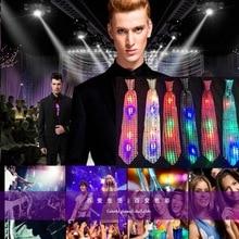 Модный дизайн 1 шт. мужской женский мигающий светильник галстук-бабочка светодиодный вечерние светильник s Блестящий галстук-бабочка светящийся реквизит свадебное украшение