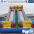 Free Sea Shipping Double Lane Cheap Inflatable Bouncy Houses Slide With Air Blower