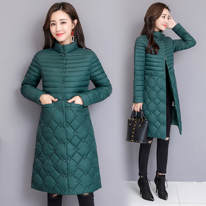 2019 Parkas Female Women Winter Coat Thickening Cotton Jacket  Parkas for Women Winter Long Thick Warm Cotton Outwear