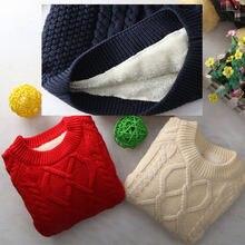 Детская теплая одежда на осень и зиму толстые кашемировые свитера