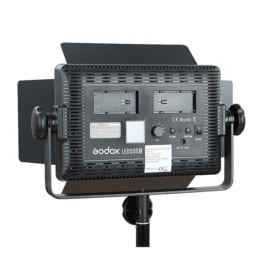 Godox LED500C 3300K~5600K Changeable Version LED Video Light (19)