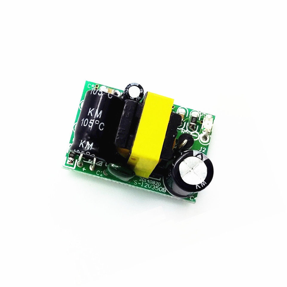 Ac Dc 12v 05a Switching Power Supply Circuit Board Voltage To 450ma 5w Buck Converter Step Down Module