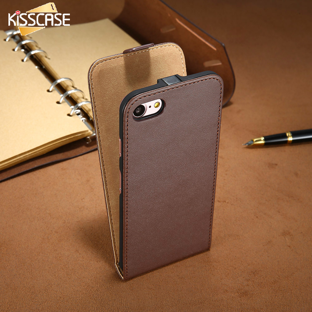 flip phone iphone case kisscase for apple iphone 4 4s leather vertical flip 14120