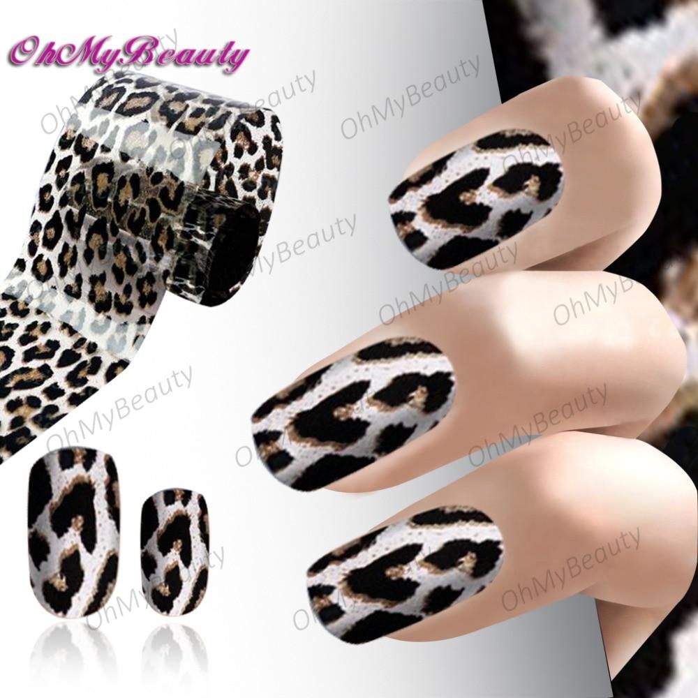 Aliexpress Buy Blingbling Fashion Nail Art Leopard Pattern