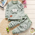 Cute cotton girls&boys clothing sets o-neck pullovers full sleeves shirts children new year costumes autumn clothes sets