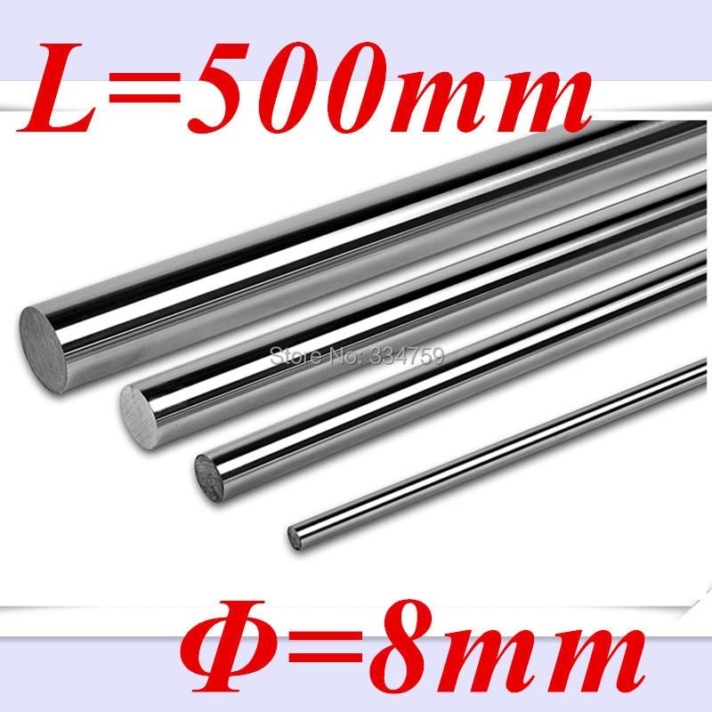 8 мм линейный вал L500mm ЧПУ Линейный рельс 8 мм Род вала