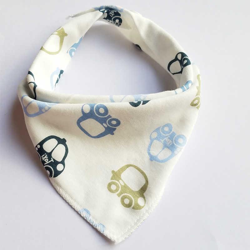 Baby Bibs Triangle Cotton Cartoon Child bandana bibs Babador feeding bib Newborn Slabber Absorbent baby cloth