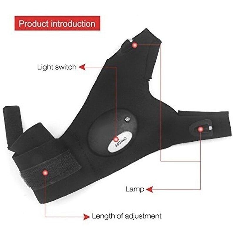 Led Taschenlampen Taschenlampen-Abdeckung Fingerhandschuhe - Haushaltswaren - Foto 5