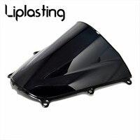 Motorcycle Black ABS Plastic Windshield For Honda CBR 600 RR CBR600RR 2005 2006