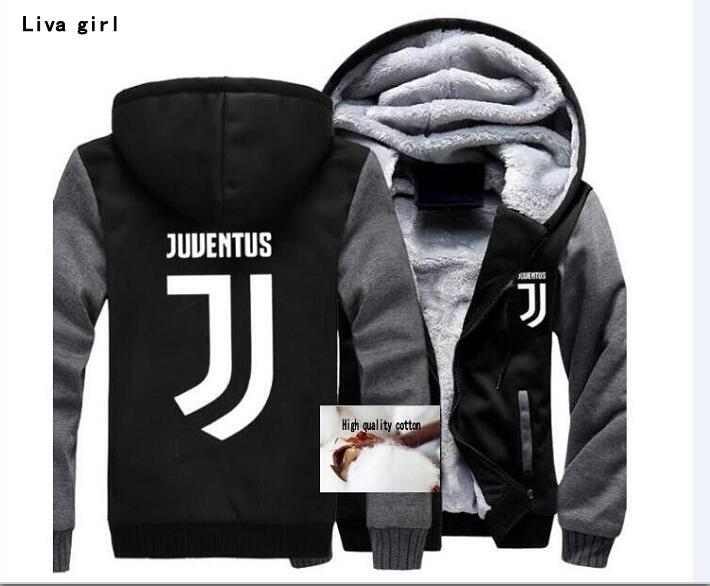 2018 NEW Hoodie Wholesale Fashion Anime Juventus Cosplay Jacket Men Ne good quality Middle school student with cap zipper shirt