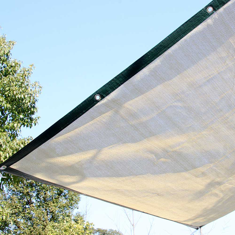 Outdoor Sun Shelter Net 6 Needle Thickened Covered  (9)