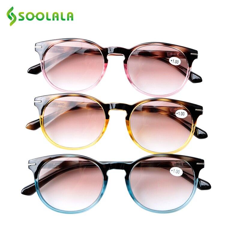 SOOLALA Sunglasses Reading Glasses Men Women Spring Hinge Reading Sunglasses With Diopters Presbyopia Glasses Lees Zonnebril