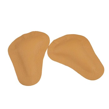 Leather Orthopedic Arch Supports Forefoot Insoles for Women Shoes High Heel Massage Cushion Half Yard Pads Shoe Liners Shoes Insoles