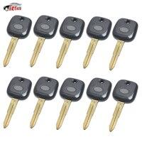 KEYECU 10 Pcs/lot Replacement New Transponder Key Shell Case for Daihatsu Charade Copen Cuore Feroza Sirion Terios YRV