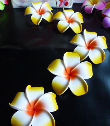 50 Grand 8 Cm Haute Qualite Jaune Couleur Mousse Fleur De