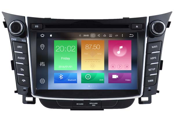 OCTA CORE android 6 0 car dvd font b gps b font player 1024 600 For