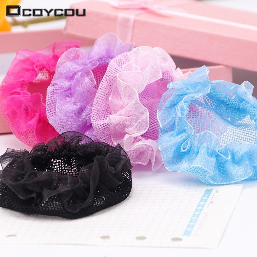 Hair Invisible Hairnet Net Pocket Headband Children Ballet Dance Headwear Hair Headdress Girl Hair Accessories