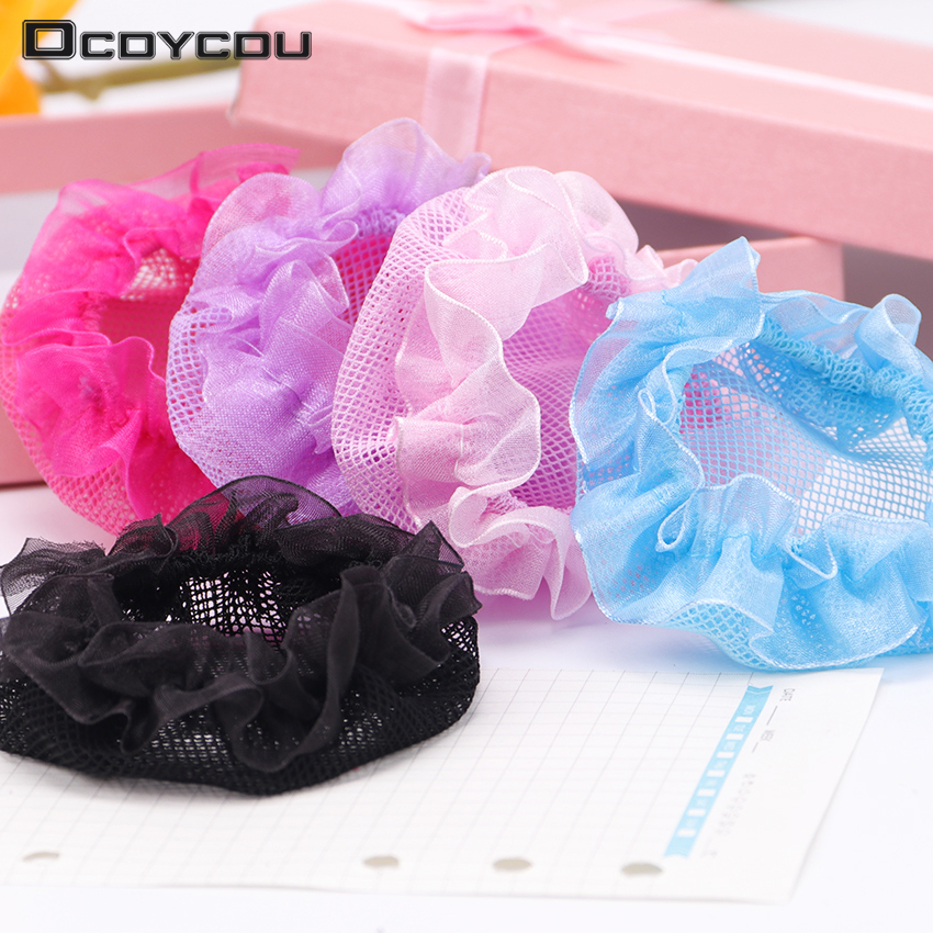 Hair Invisible Hairnet Net Pocket Headband Children Ballet Dance   Headwear   Hair Headdress Girl Hair Accessories