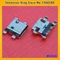 Ck 100 unids puerto de carga usb micro conector dock parte para samsung galaxy s3 mini i8190, mc-043