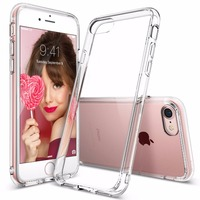 100 Original Ringke Fusion Case For IPhone 7 IPhone 7 Plus Military Grade Drop Protection Clear