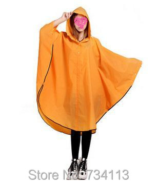 Fashion Rain ponchoEnvironmental protection EVA outdoor Rain gear - Household Merchandises - Photo 1