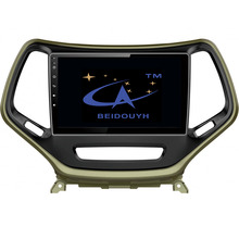BEIDOUYH Android Car gps navigator for JEEP Cherokee 2015-2016 Support Front/Rear Record /GPS Navigation/DVR/can-bus/RDS Radio